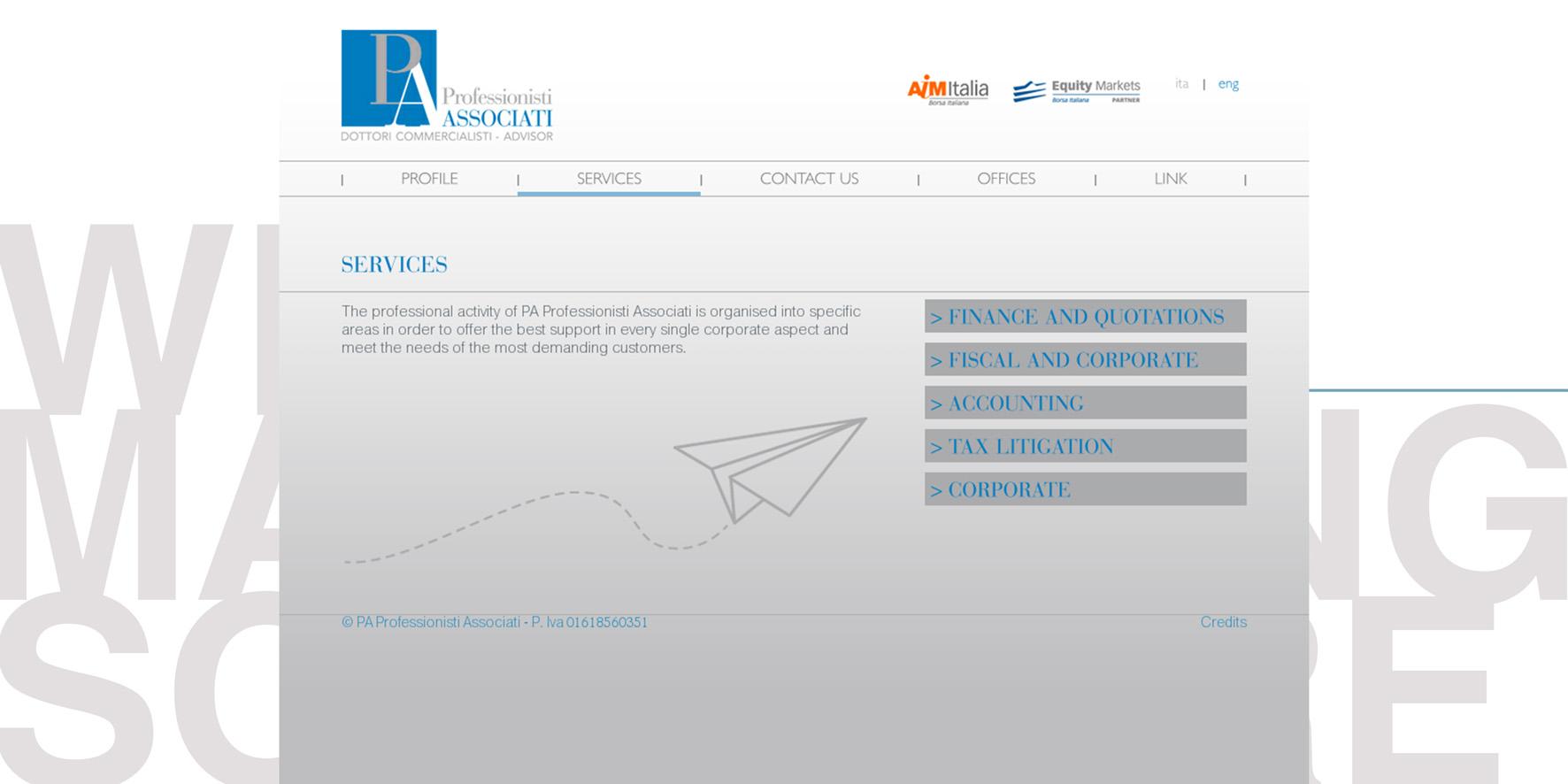 Portfolio brain system web agency 2018 Pagina